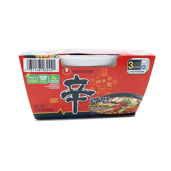 Nongshim Shin Bowl Noodle Soup