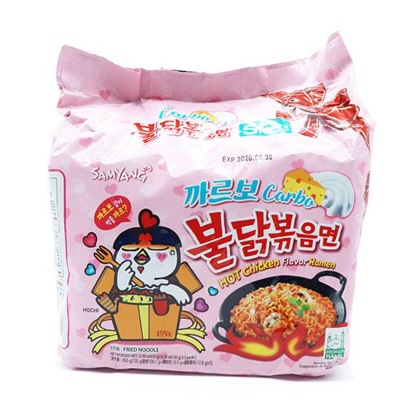 Samyang Hot Chicken Carbo Pack